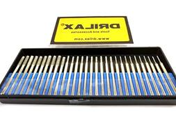 30 pcs SET 10 pcs. 1mm 10pcs. 2mm 10 pcs. 3mm Diamond Drill