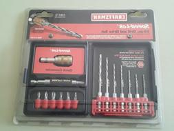 CRAFTSMAN Speed lok 16 PC drill and drive set New- USA made