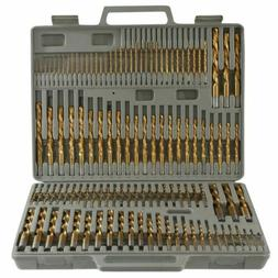 115pc Titanium Drill Bit Set w/ Index Case Number Letter Fra