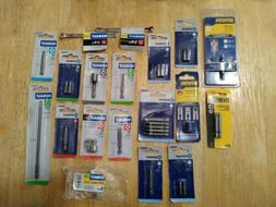 Various Tools~Drill Bits/Wrench/Screw Grip~Lot of 19 Packs~N