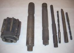 Vintage Metal Reamers & Morse Taper Drill Bits 34.58 lbs Use